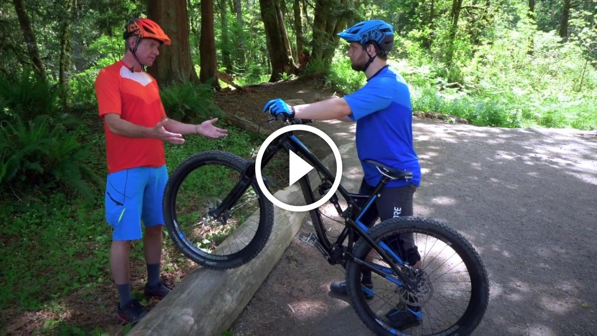 "Watch: How to Practice a Mountain Bike ""Manual"" Safely - Singletracks Mountain Bike News"