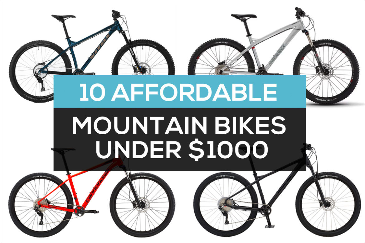 24cc47186c8 10 Affordable Mountain Bikes Priced Under $1000 That Are Worth a ...