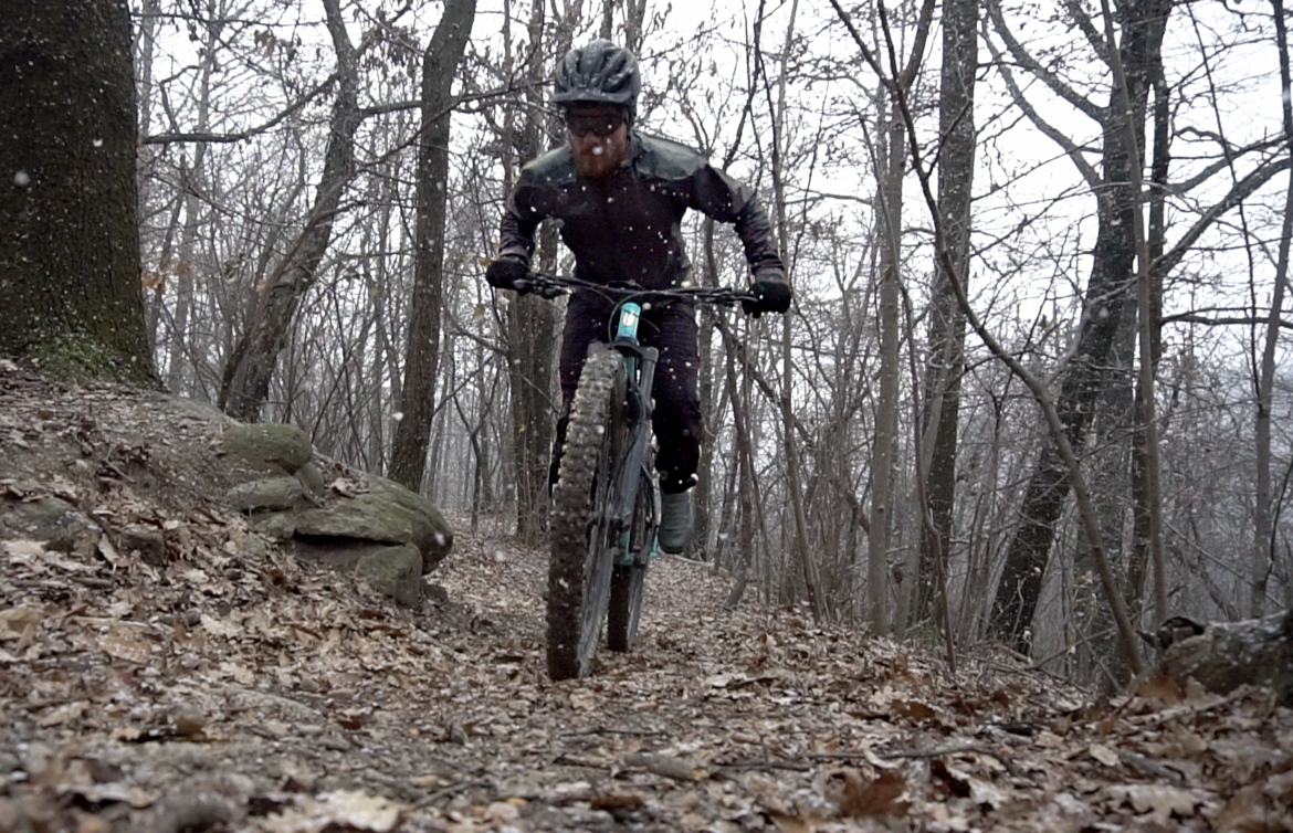 Well-designed gear like the Refuge jacket from Showers Pass makes winter  riding more enjoyable. 85a6767cb