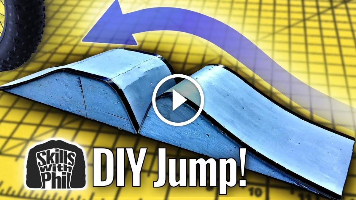 Watch: Building a Beginner-Friendly Ramp to Learn MTB Gap Jumps