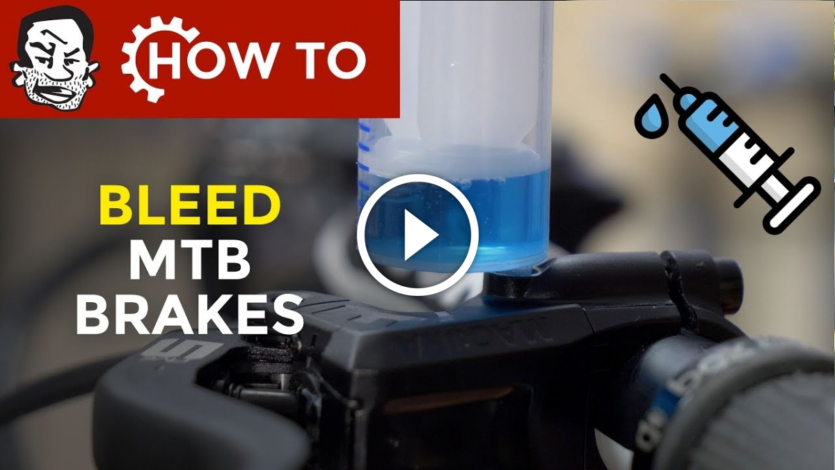 Watch: How Does Mountain Bike Brake Bleeding Work?