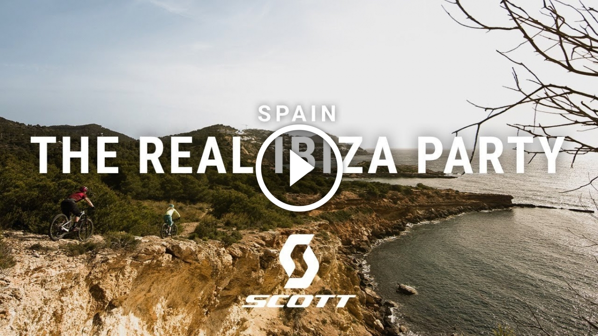 Watch: Mountain Bike Party Spots in Ibiza, Spain