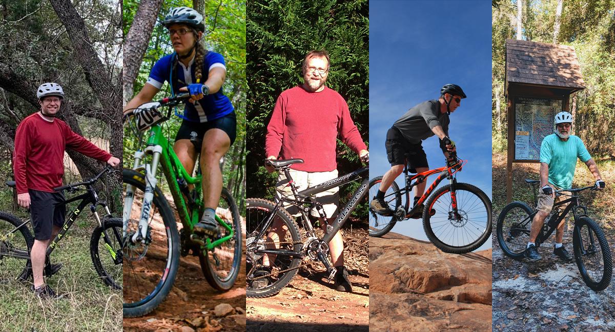 How Five Riders Lost Weight Through Mountain Biking Singletracks