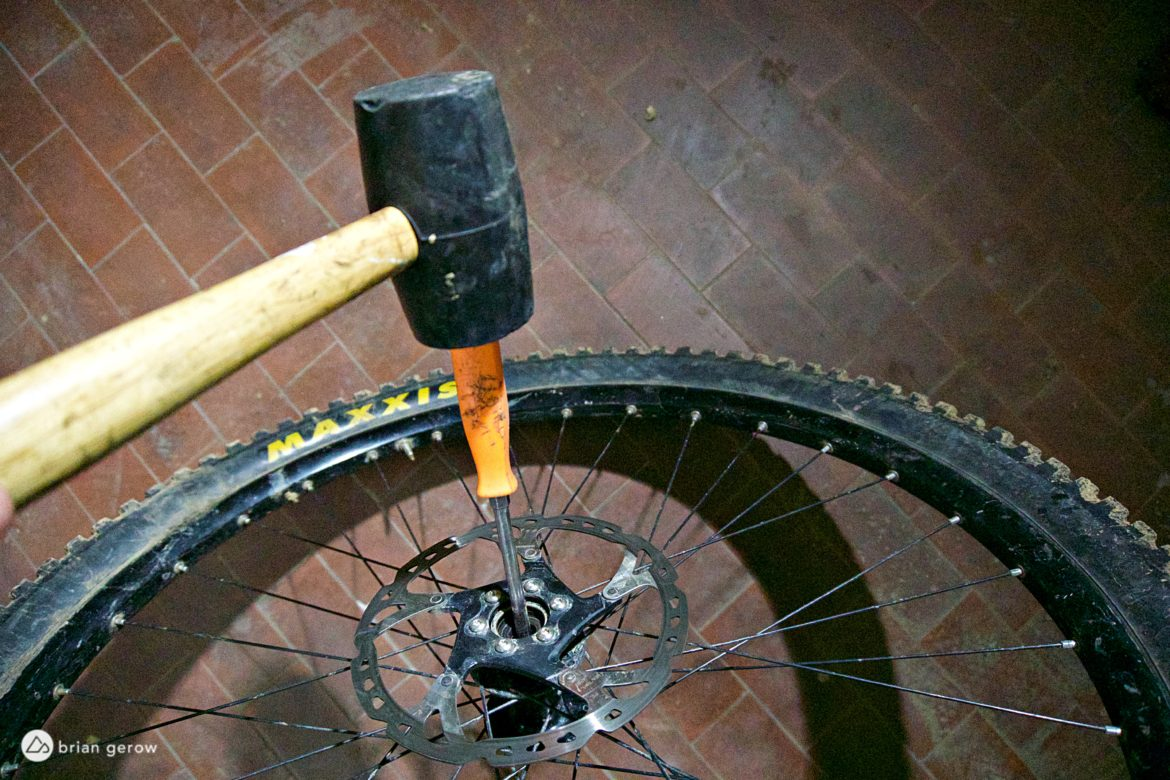 How to Replace Cartridge Bearings in Your Front MTB Wheel