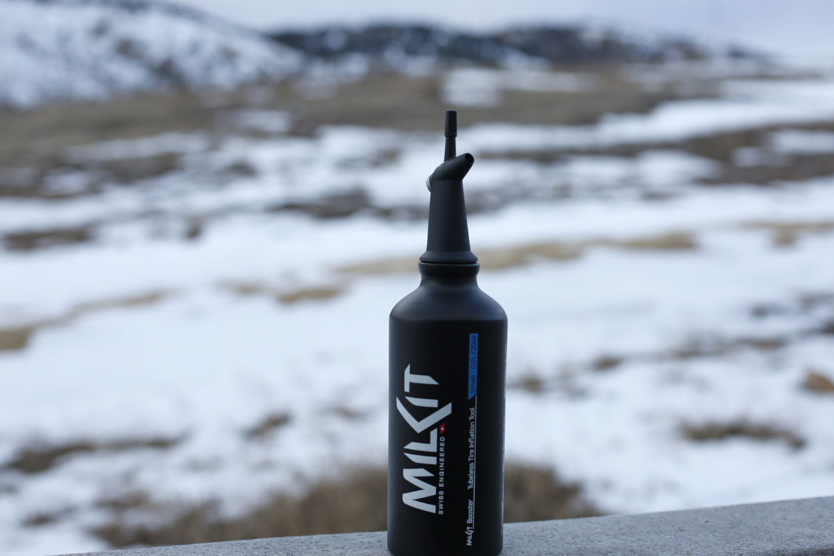 Review: MilkIt Booster Tubeless Bottle All But Eliminates the Need for an Air Compressor