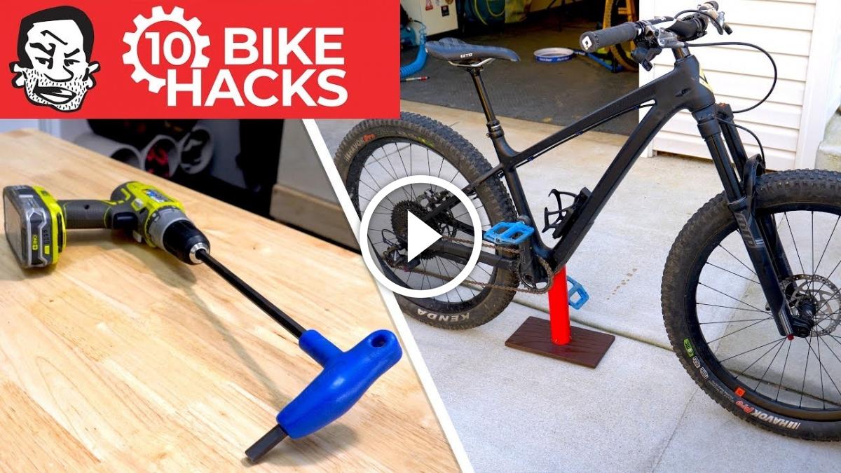 Watch: 10 New Bike Hacks for Mountain Biking