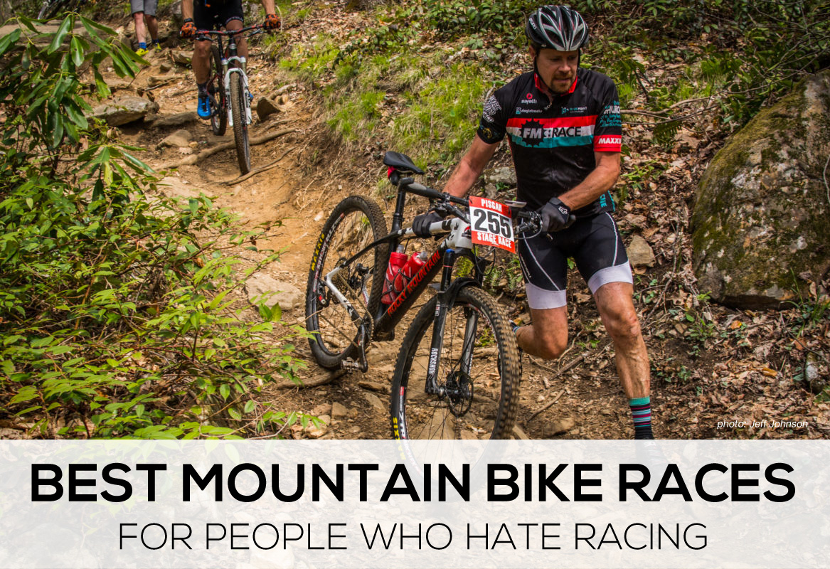 Best mountain bike races for people who hate racing Pisgah stage race