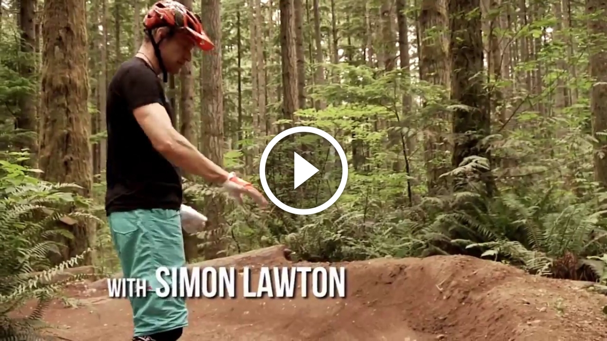 Watch: How to Hit Mountain Bike Drops at Varying Speeds with Simon Lawton from Fluidride