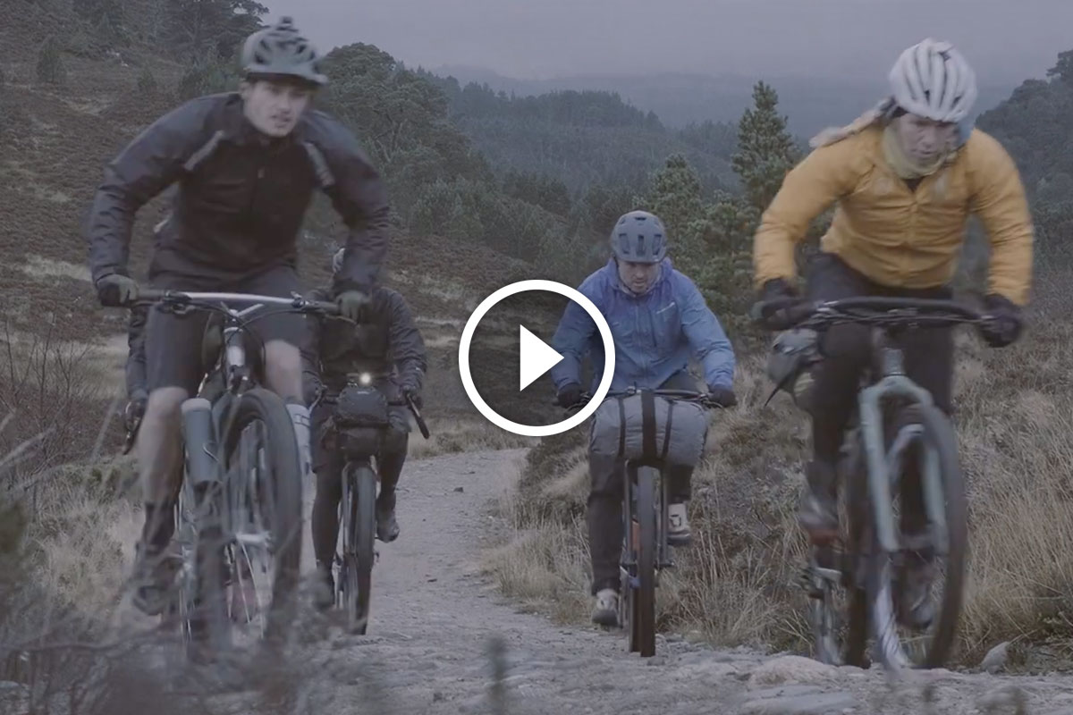 Watch: Bikepacking the Cairngorms in Scotland Looks Both Miserable and Thrilling