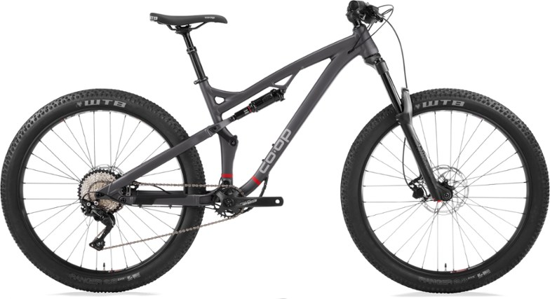 REI Announces New Affordable, Co-op Branded Full Suspension Trail Bikes