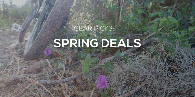 Spring MTB Deals: $30 Torque Set // $40 Baggies with Liner // 15% off PNW Droppers // Drivetrain Parts