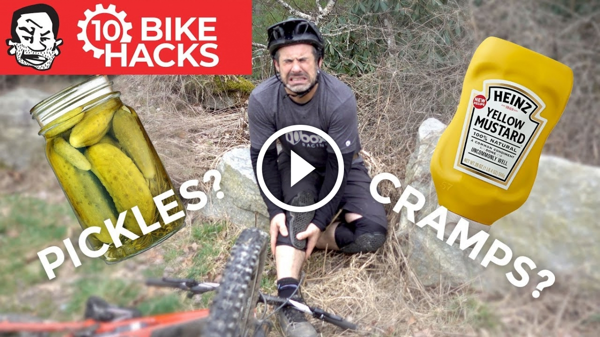 Watch: 10 Bike Hacks to Use in a Pinch. One Involves Pickles.