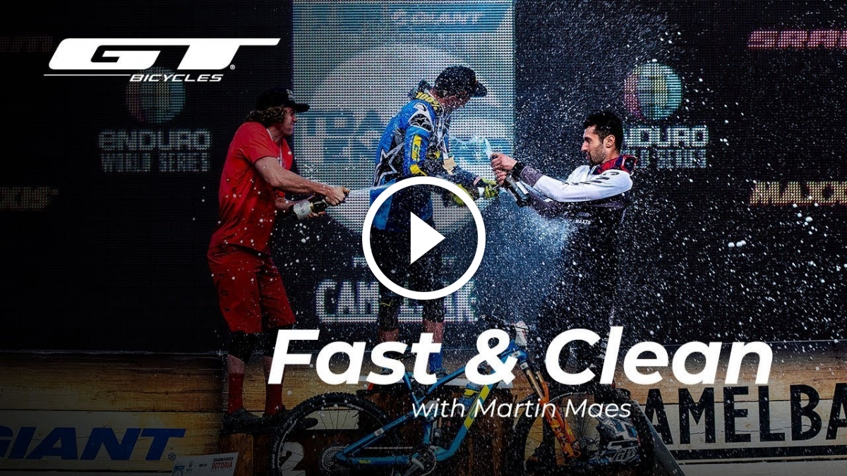 Watch: Fast and Clean with Martin Maes