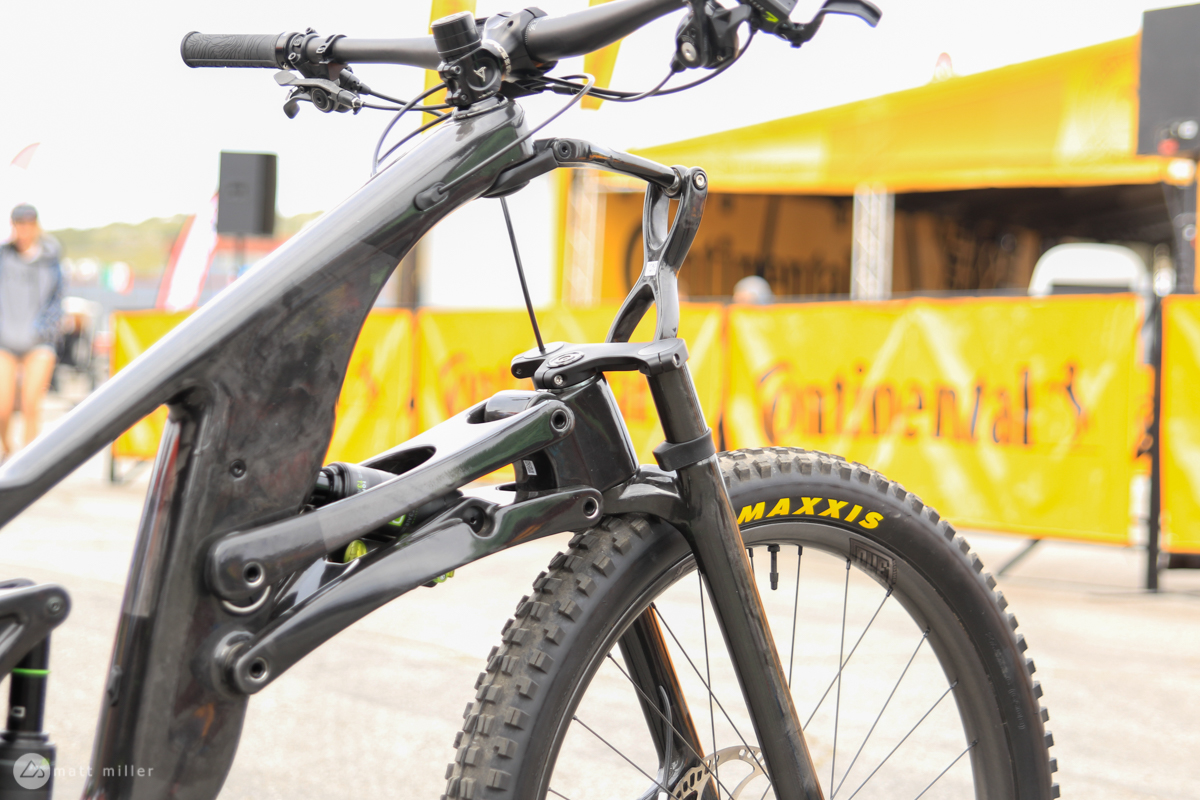 First Ride: The Unusual-Looking SCW1 Front End Linkage Mountain Bike