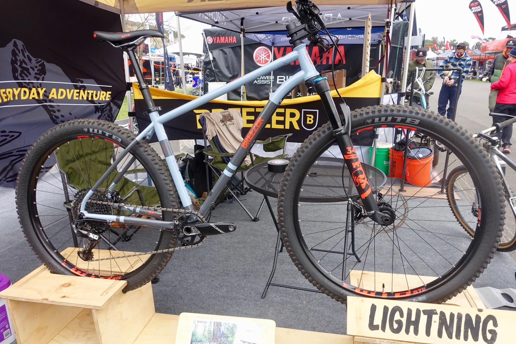 Notable 120mm+ Hardtail Mountain Bikes at Sea Otter 2019