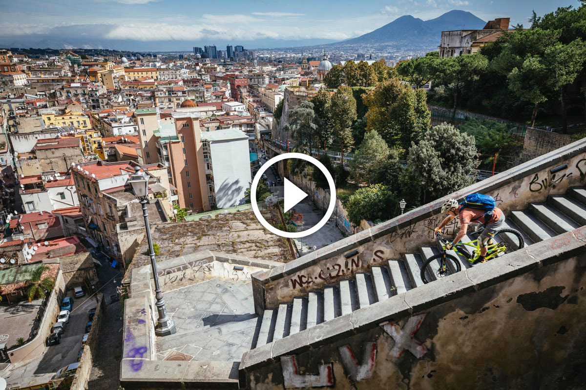 Watch: TransNapoli - An Urban Adventure with Hans Rey in Italy