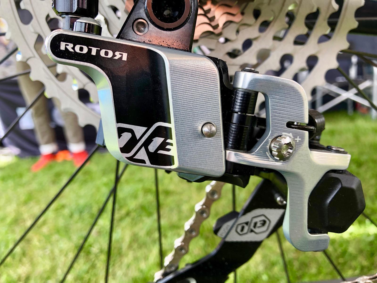 Rotor's 13-speed MTB Drivetrain Inches Forward, New e*thirteen Cassette Boasts 556% Range