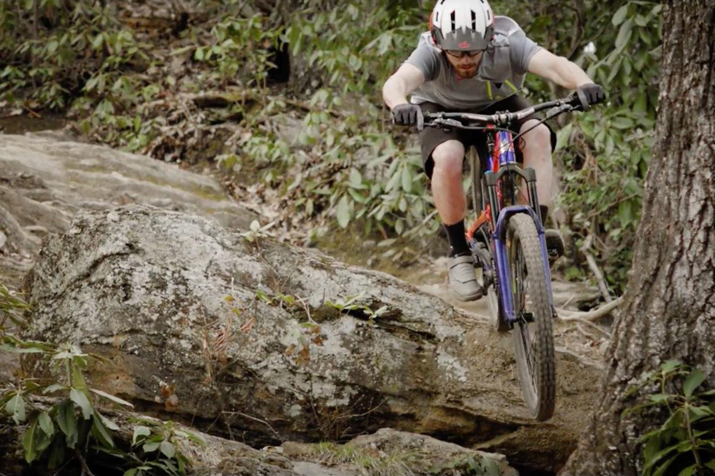 Bennet Gap Trail, Brevard, North Carolina The Drop