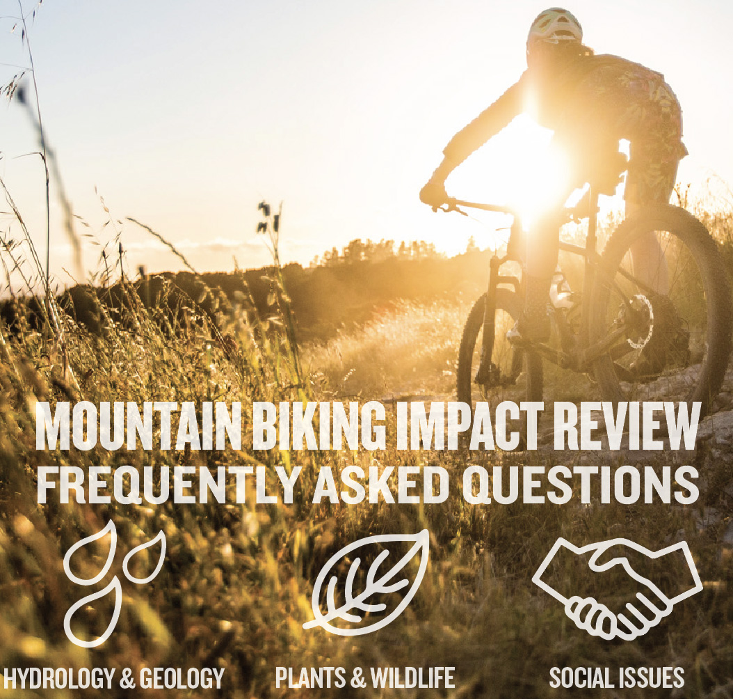 Check Out the Recent Mountain Bike Trail Impact Review