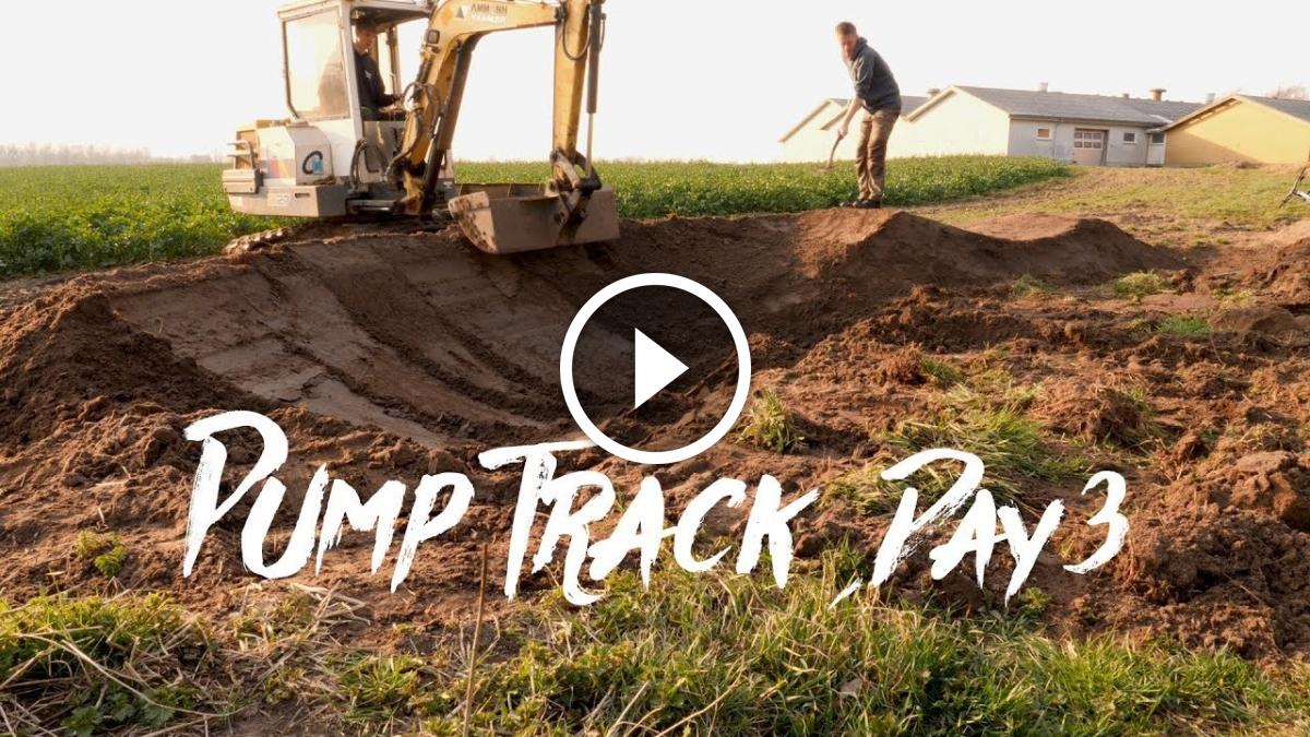 Watch: Pump Track Building - A Double And Berm - Singletracks Mountain Bike News
