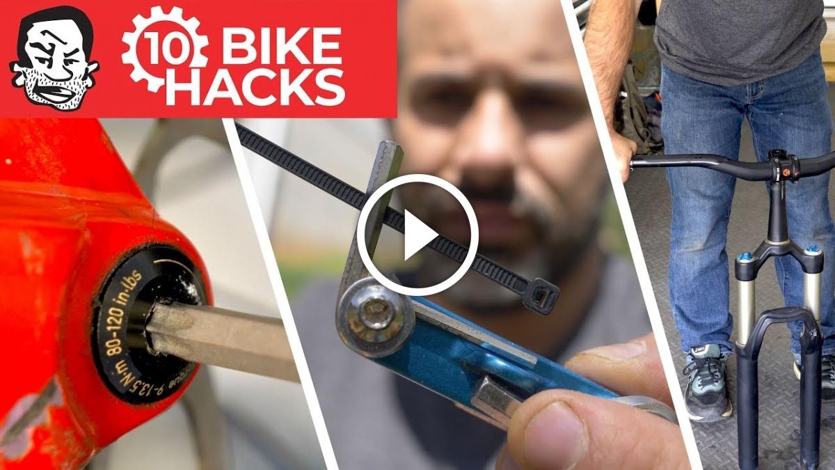 Watch: 10 Mountain Bike Tips and Hacks, From Repair to Trail Building - Singletracks Mountain Bike News