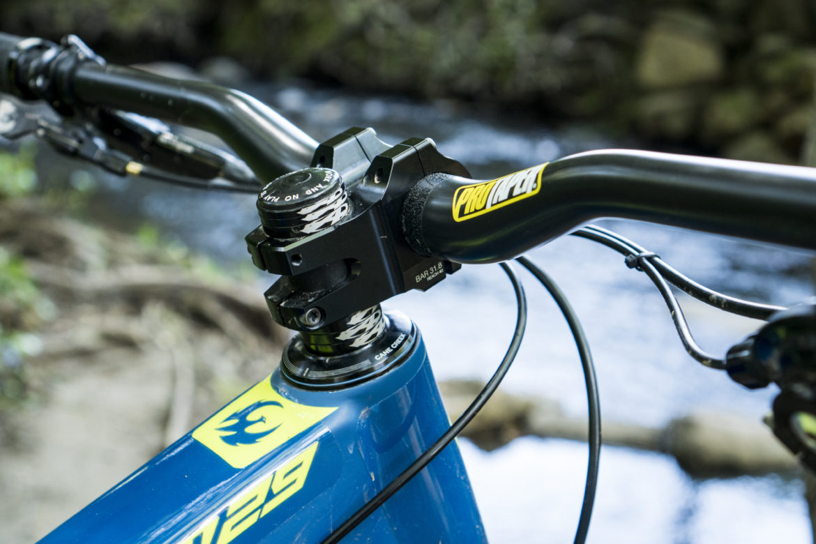 Hayes' New Enduro Collection Includes the Mezzner Fork with 37mm Stanchions, Plus a New Shock, Brakes, and Cockpit