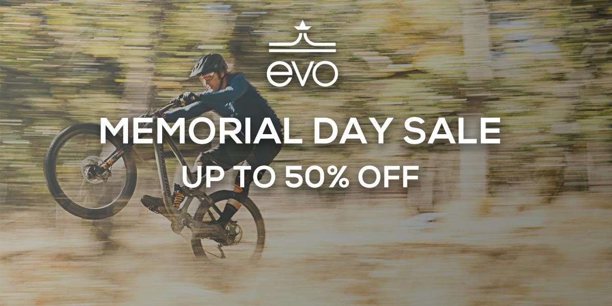 MTB Deals: evo Memorial Day Sale - Singletracks Mountain Bike News