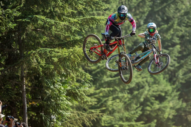 News Mix: EWS Madeira, Women's Speed & Style @ Crankworx, Two New Bikes, and a Pink Pressure Washer - Singletracks Mountain Bike News