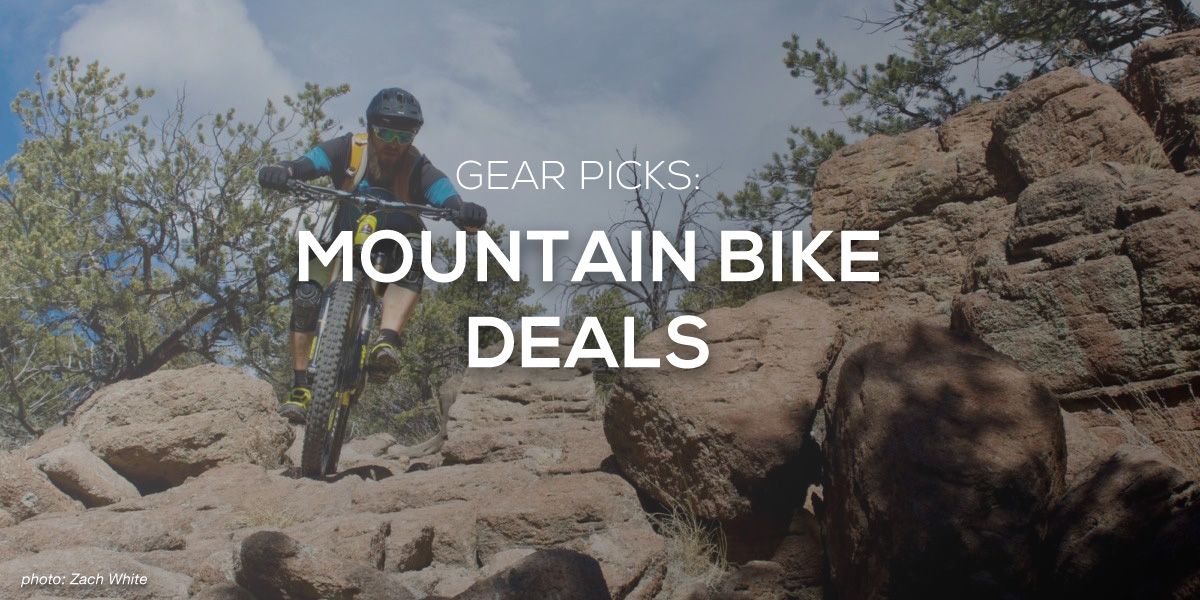 Mountain Bike Gear Deals up to 50% Off + 20% Off Coupon Code for SHRED - Singletracks Mountain Bike News