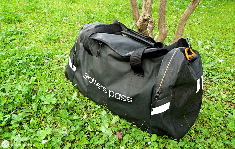 Showers Pass Refuge Waterproof Duffle Bag Offers Compact Organization [Review] - Singletracks Mountain Bike News