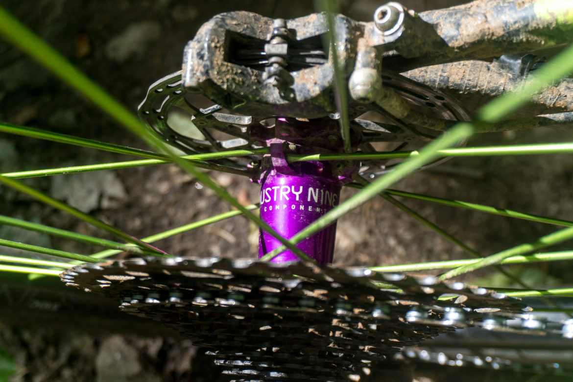 Review: Industry 9 Enduro Carbon Wheelset with Hydra Hubs - Singletracks Mountain Bike News