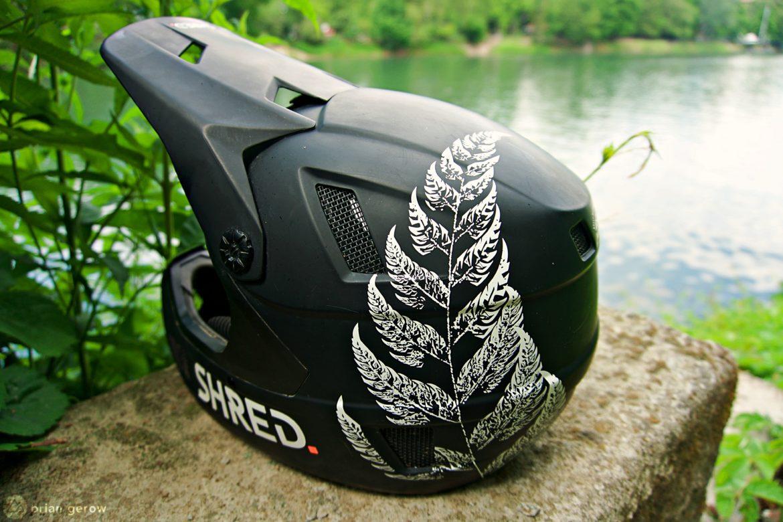 Shred Optics Brain Box Noshock Full Face Mountain Bike Helmet [Review] - Singletracks Mountain Bike News