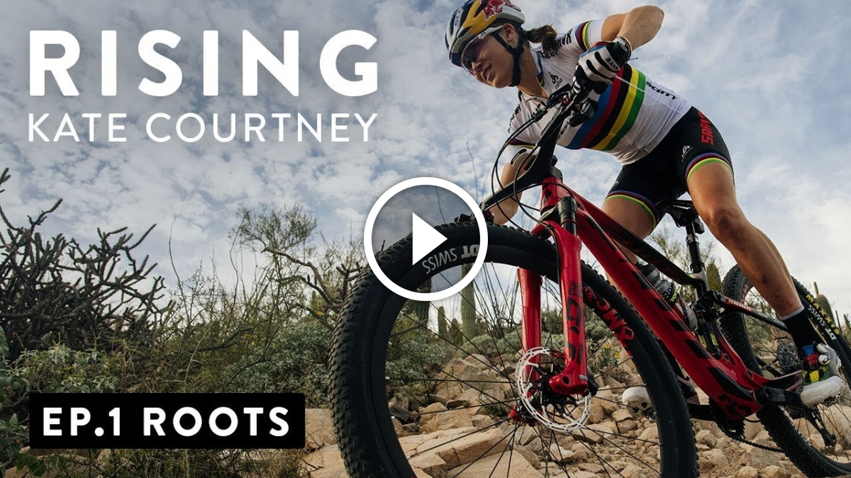 Watch: Rising, Episode 1 - Roots with Kate Courtney - Singletracks Mountain Bike News