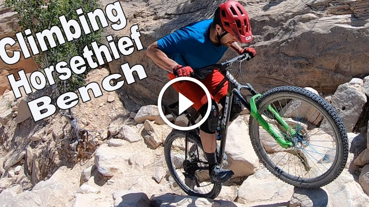 Watch: Jeff Lenosky Climbs UP Horsethief Bench, and Breaks Down the Keys to a Clean Run - Singletracks Mountain Bike News