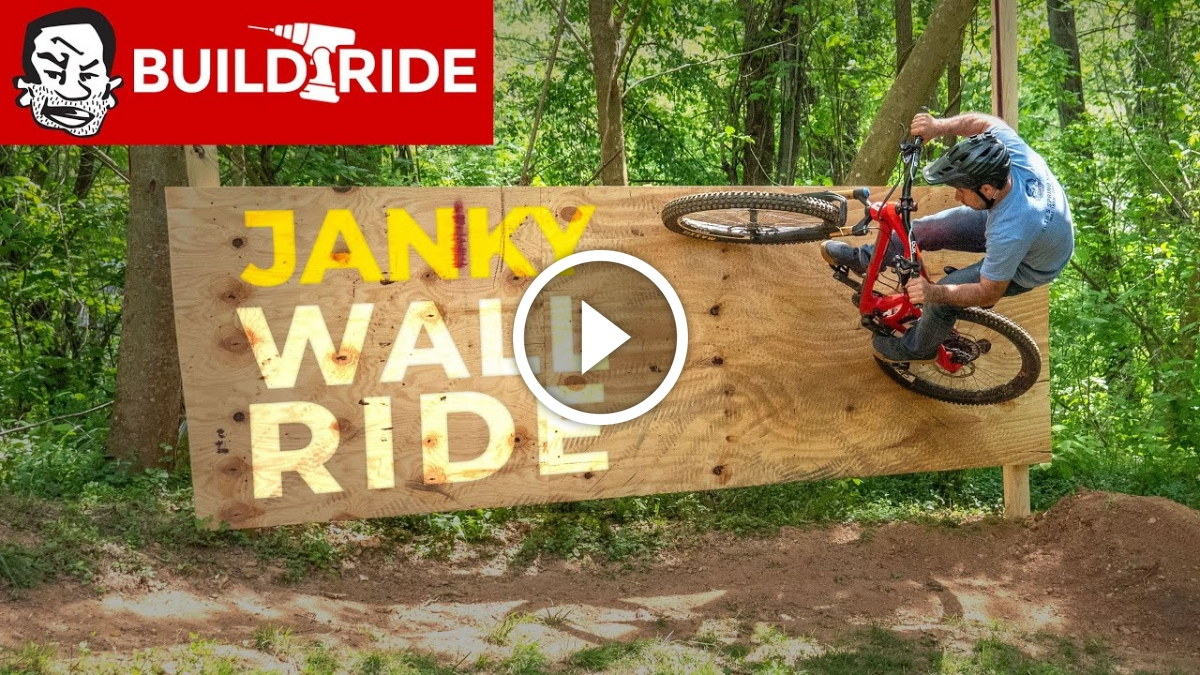 Watch: Janky Wall Ride Build at Berm Creek Backyard Bike Park - Singletracks Mountain Bike News