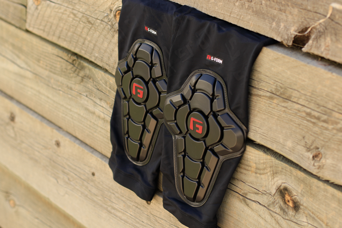 Review: G-Form Pro-X Knee Pads Make Protection Discreet - Singletracks Mountain Bike News