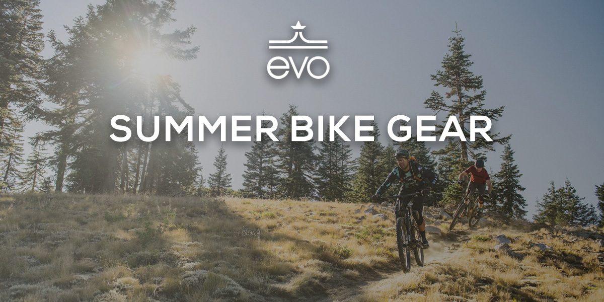 Summer Bike Gear from evo: New Fox Dropframe Helmet, $1500 Off Devinci Marshall, Women's Jerseys from $30 - Singletracks Mountain Bike News