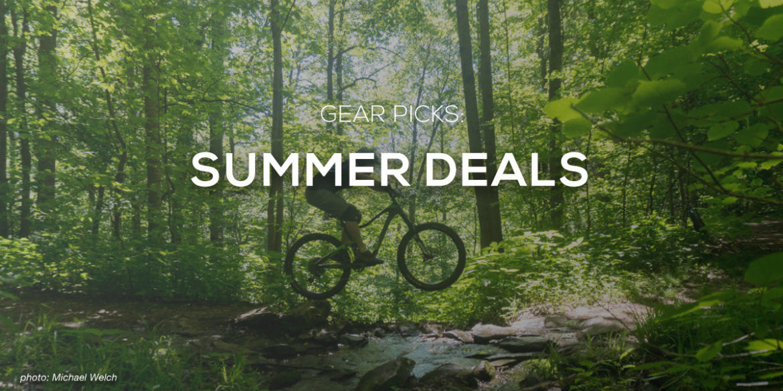 MTB Deals: Maxxis, Niterider, The Drop + Handup Gloves