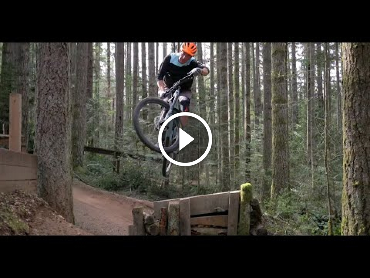 Watch: Mountain Bike Tips - How To Jump on a Mountain Bike - Singletracks Mountain Bike News