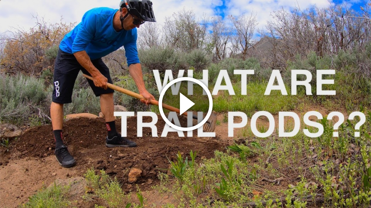 Watch: Trail Pods Make Tools Accessible for Trail Maintenance - Singletracks Mountain Bike News