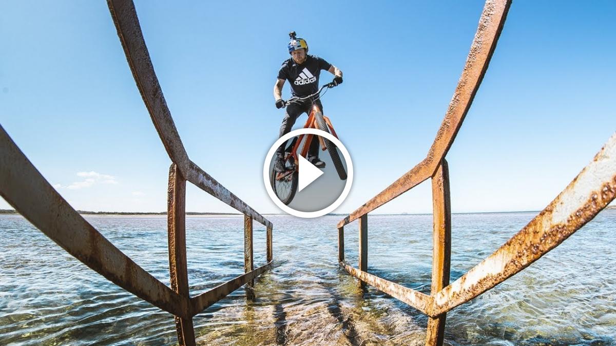 Watch: Danny MacAskill x adidas Outdoor - Welcome to the Family - Singletracks Mountain Bike News