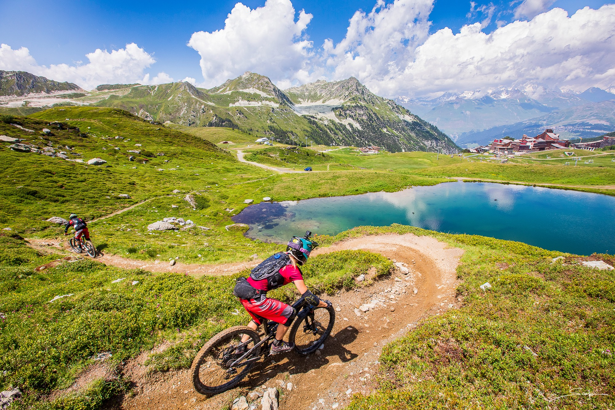 Paired Enduro Racing: What I learned While Racing Enduro2, in Les Arcs, France - Singletracks Mountain Bike News