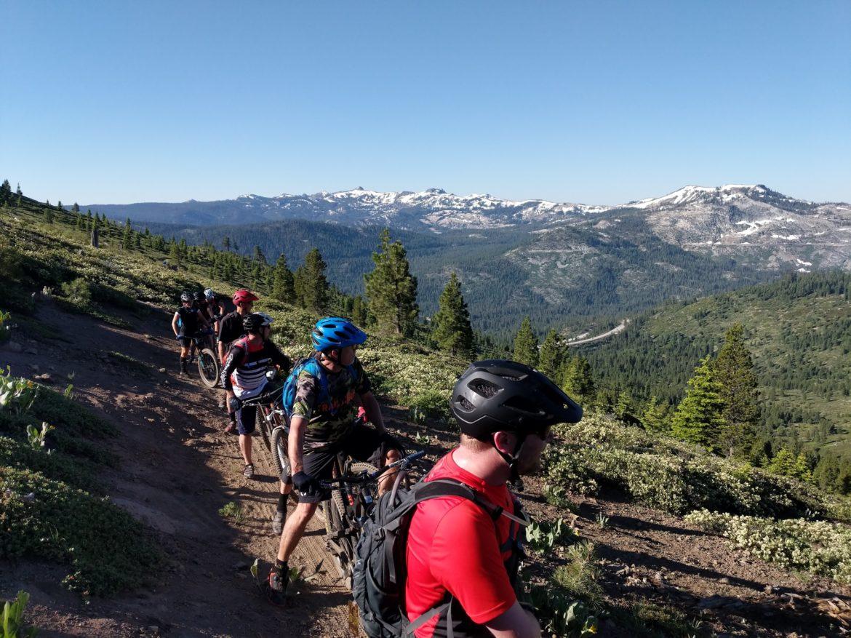 Get in The Van! Mountain Bike Shuttling Tahoe's Best Trails - Singletracks Mountain Bike News