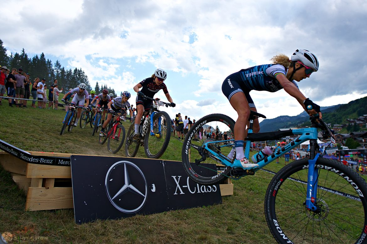 Photo Essay: The Short Track XC Dust Storm in Les Gets, France at the UCI World Cup - Singletracks Mountain Bike News