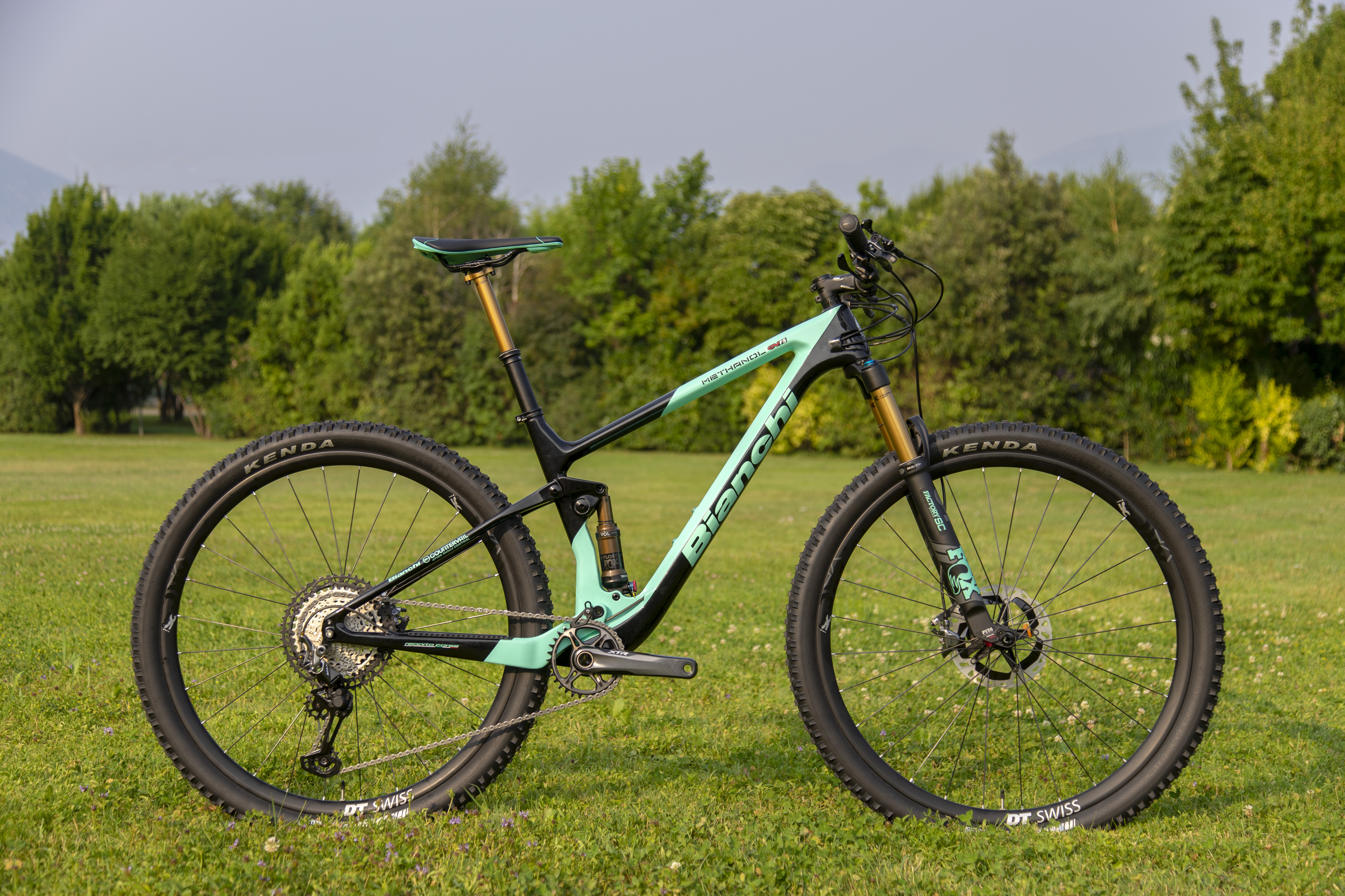 The New Bianchi Methanol CV FS Mountain Bike Rips in With XC and Trail Builds - Singletracks Mountain Bike News