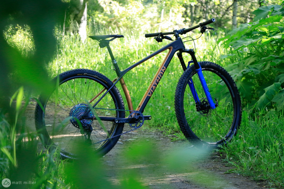 First Ride Review: Deciphering the Viathon M1 Hardtail Mountain Bike - Singletracks Mountain Bike News