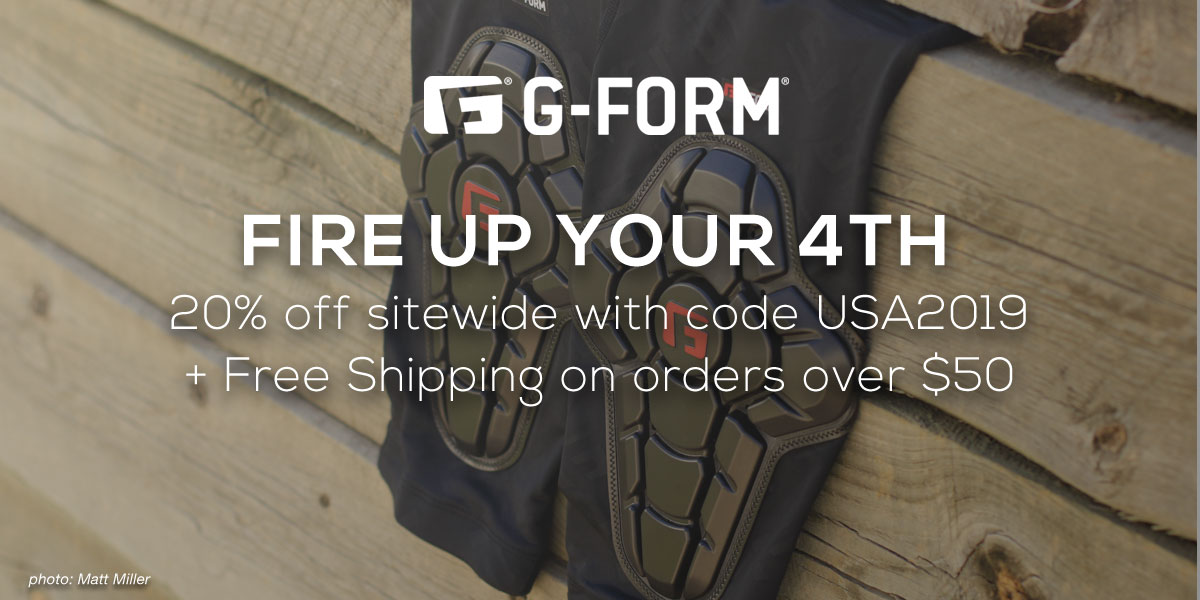 20% Off G-Form Pads, Plus Free Shipping over $50 - Singletracks Mountain Bike News