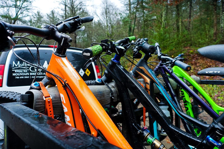 Mulberry Gap Bike Shuttle