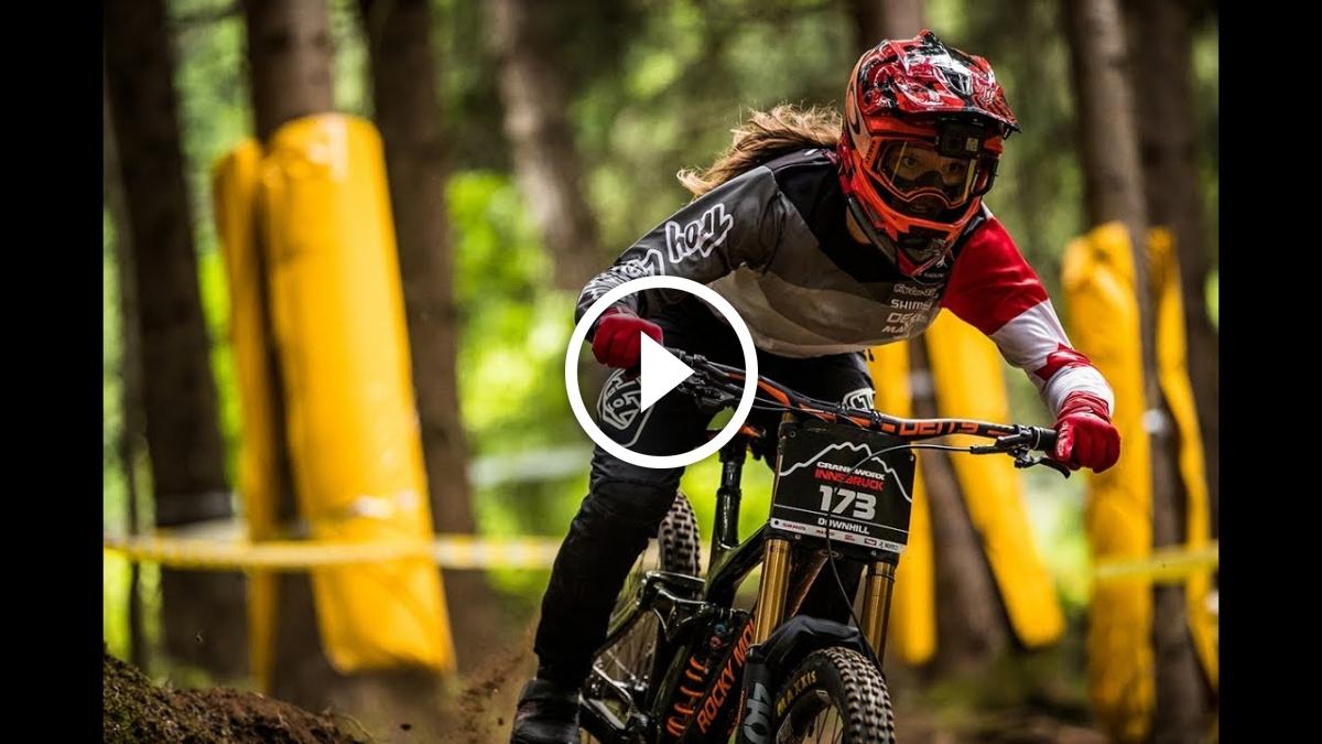 Watch: Maxxis Rubber Side Down - Vaea Verbeeck - Singletracks Mountain Bike News