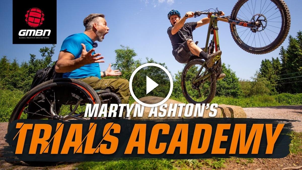 Watch: Martyn Ashton's Trials Academy [MTB Skills] - Singletracks Mountain Bike News